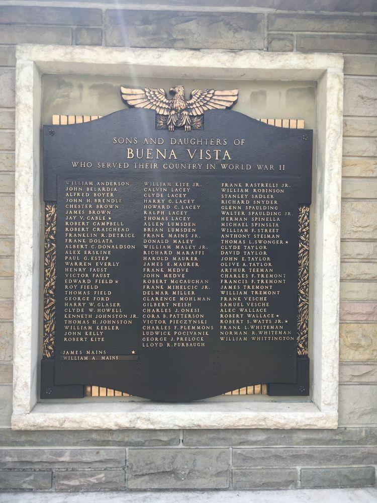 Buena Vista Honor Roll