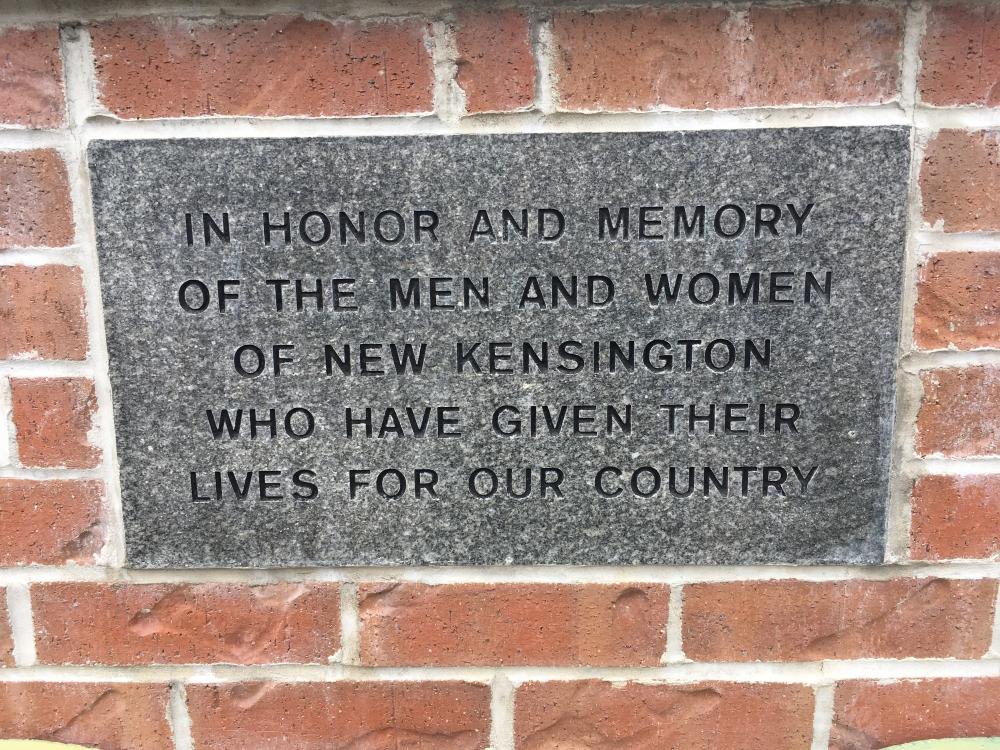 Memorial Park of New Kensington, PA
