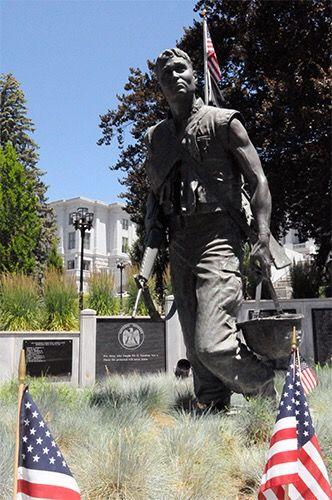 Utah Vietnam Veterans Memorial, Salt Lake City, Utah