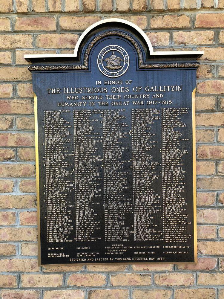 Gallitzin Memorial Park