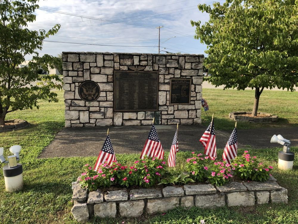 Speers Veterans Honor Roll