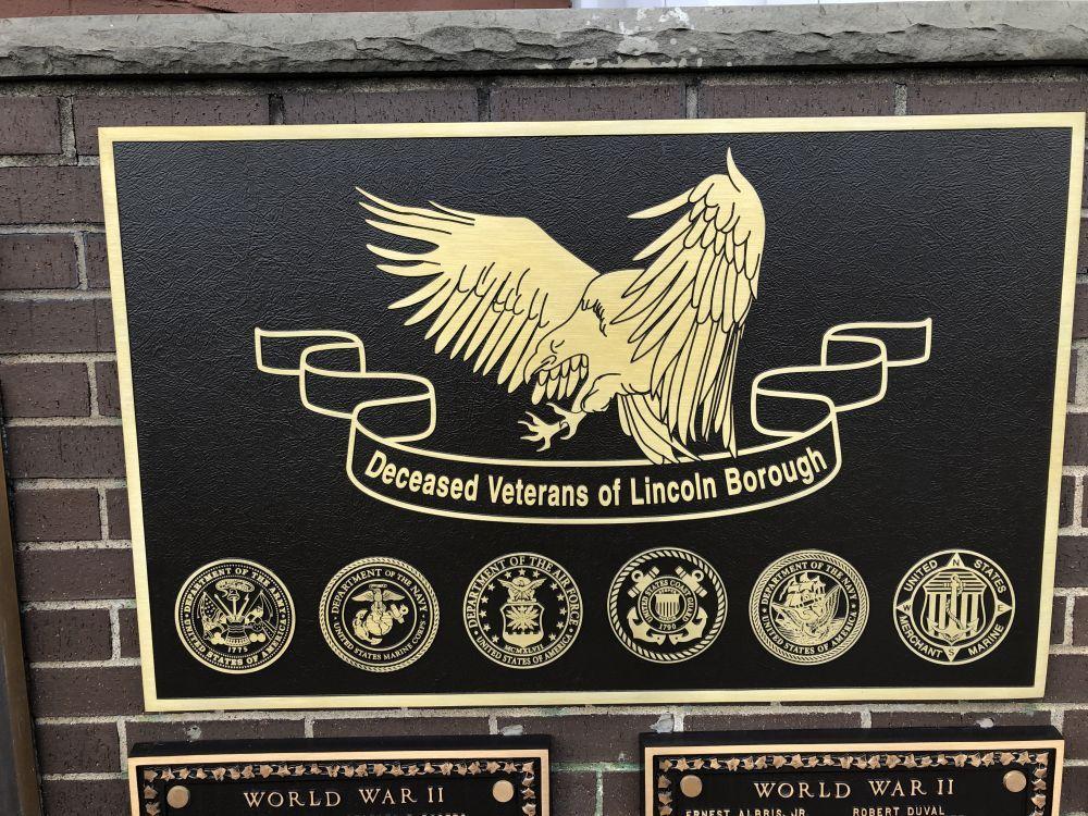 Lincoln Borough Veterans Memorial