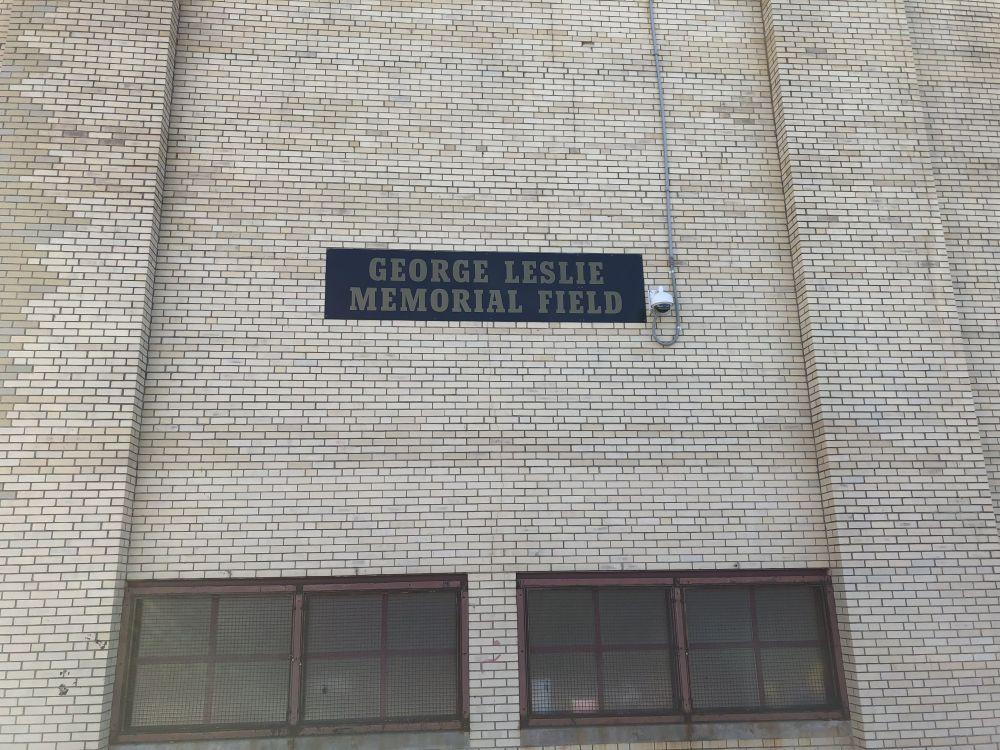 George Leslie Memorial Field