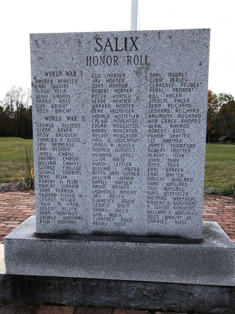 Salix Veterans Memorial