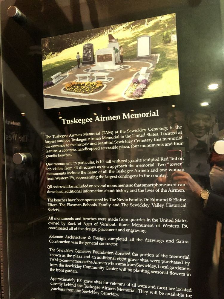 Tuskegee Airmen Memorial at Pittsburgh International Airport, Corapolis, Pennsylvania