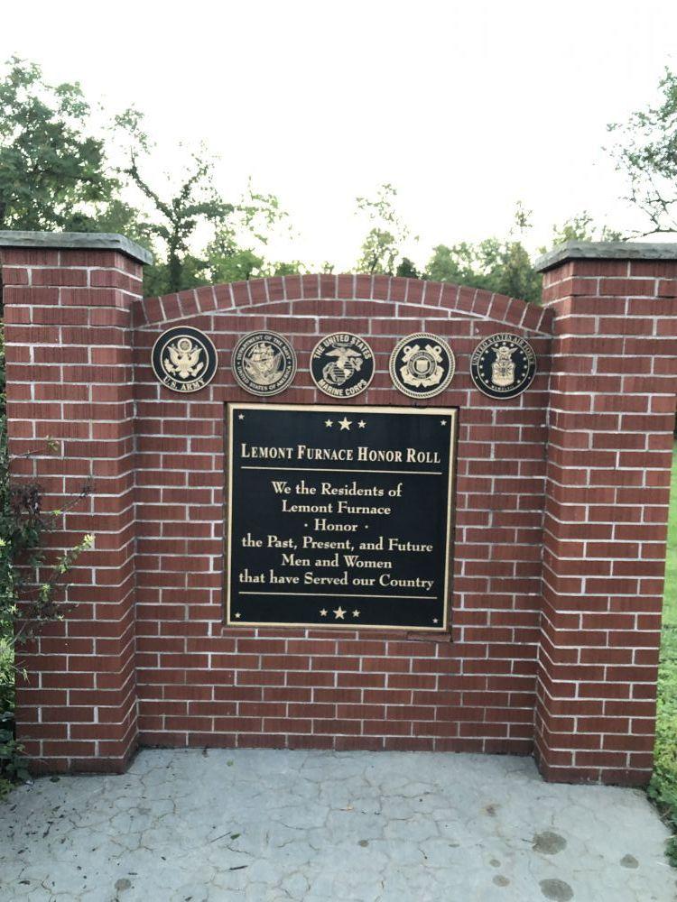 LeMont Furnace Honor Roll