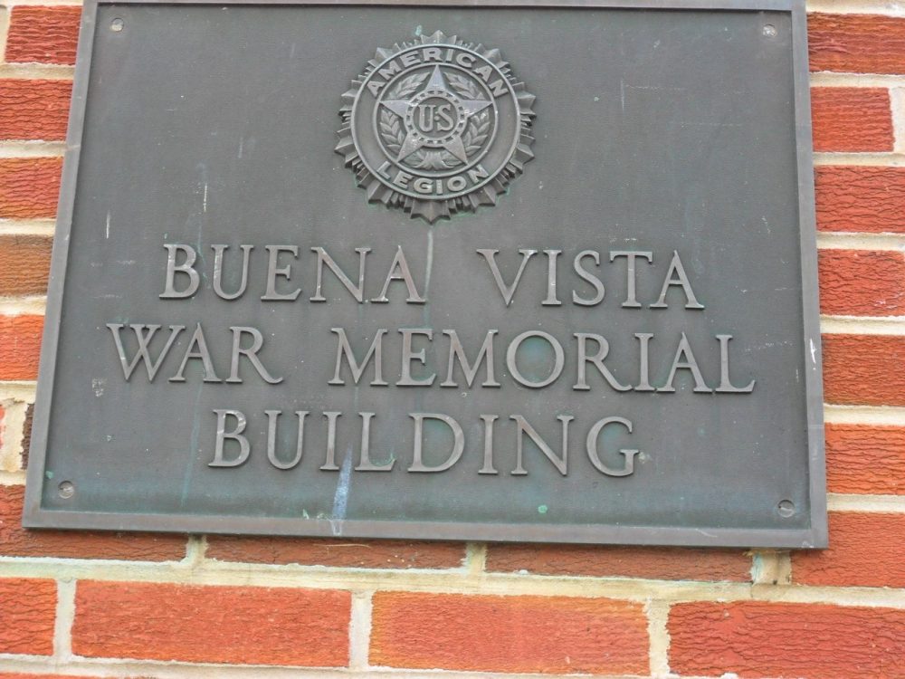 Buena Vista War Memorial Building
