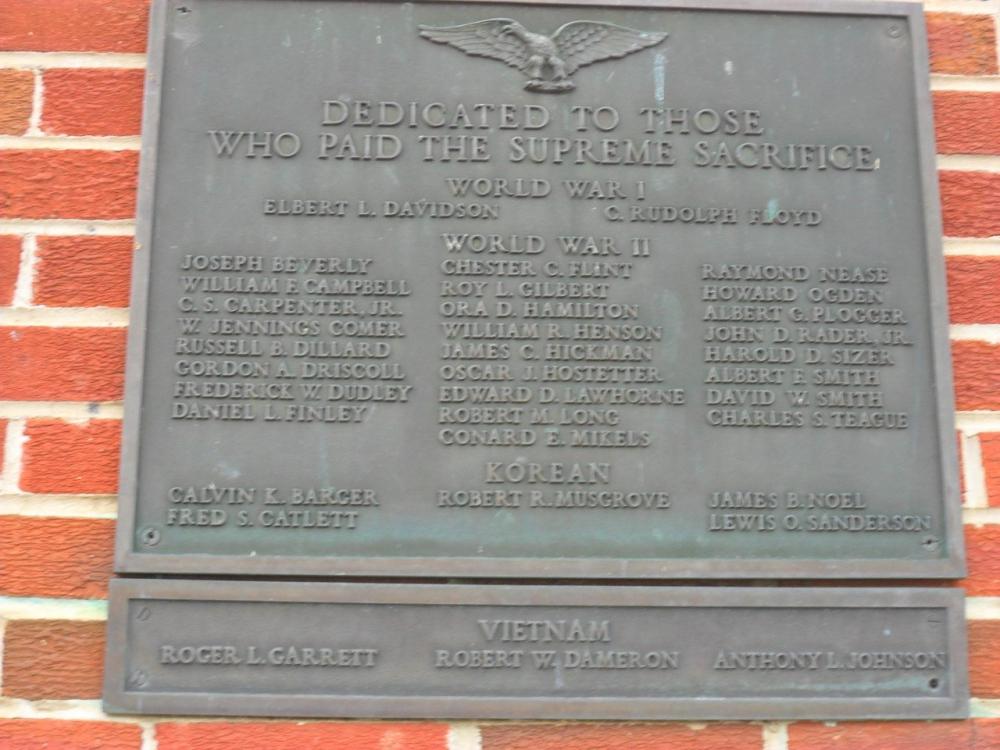 Buena Vista War Memorial Building