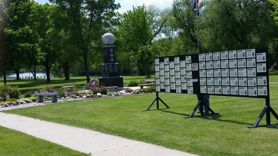 Gold Star Memorial, Berlin, Wisconsin