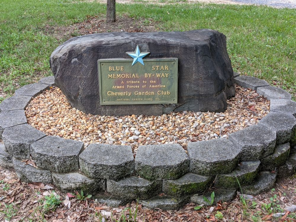 Cheverly Avenue Blue Star Memorial By-Way