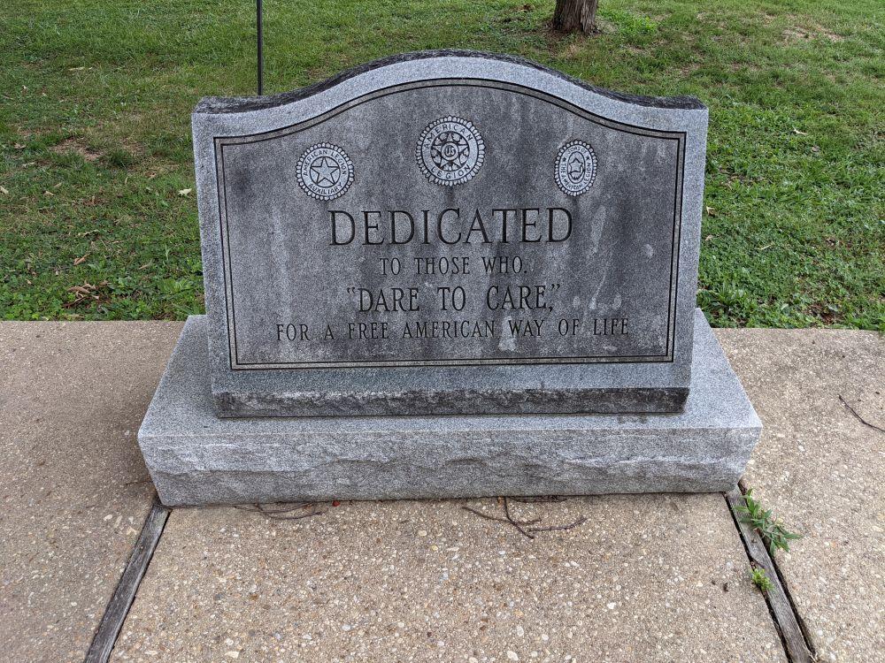 Cheverly American Legion Park Memorial