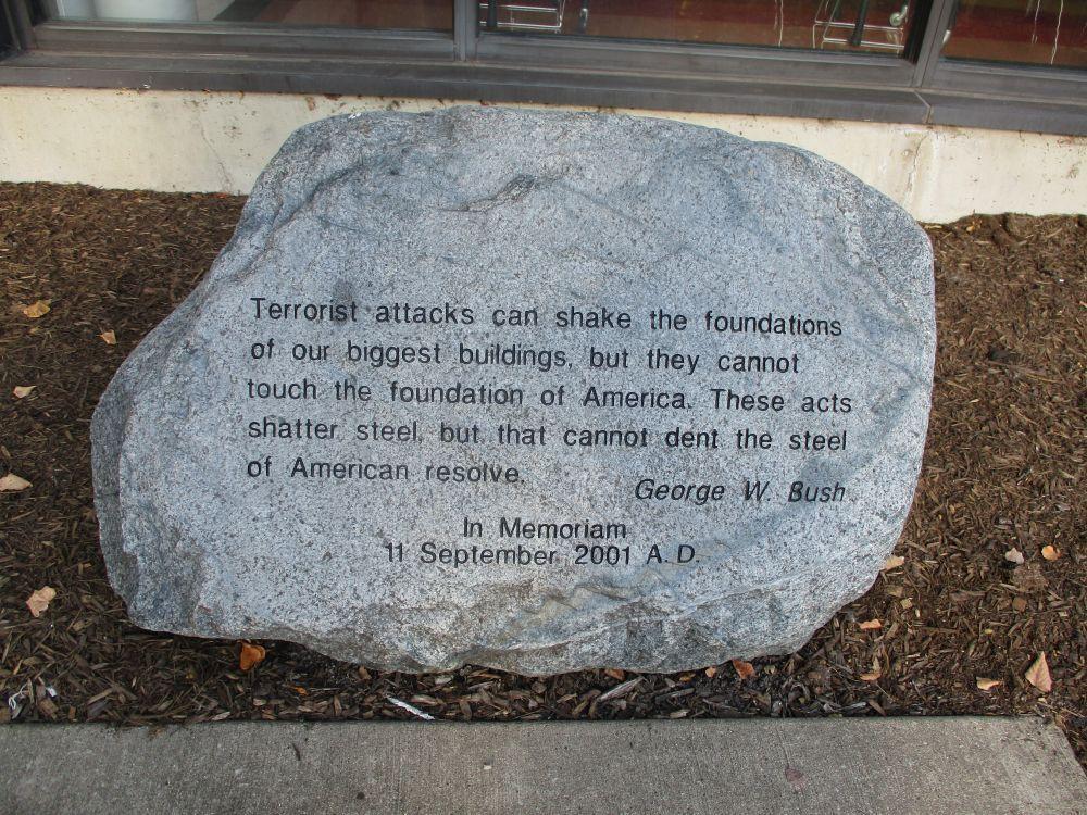 Carl Sandburg High School September 11, 2001 Memorial
