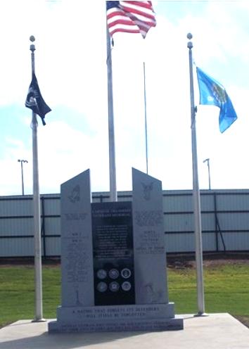Carnegie Veterans Memorial, Carnegie, Oklahoma | The American Legion