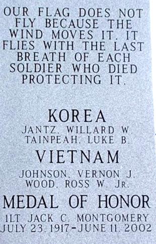 Carnegie Veterans Memorial, Carnegie, Oklahoma