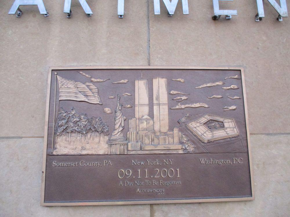 Chicago Fire Department September 11, 2001 Memorial, North Harlem Avenue Station
