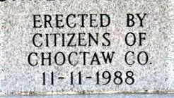 Choctaw County Memorial - Hugo, Oklahoma