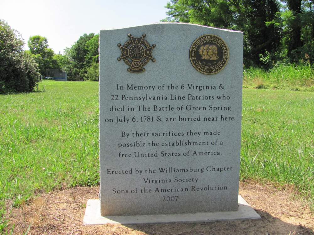 Battle of Green Springs Memorial