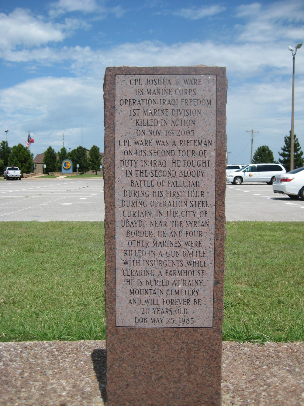 Comanche County, Oklahoma – Comanche War Scout Circle of