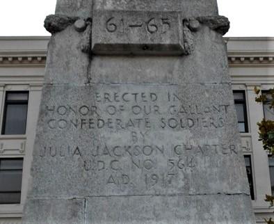Civil War Memorial - Durant, OK