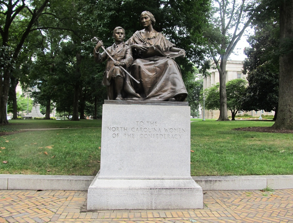 Monument to North Carolina Women of the Confederacy, Raleigh