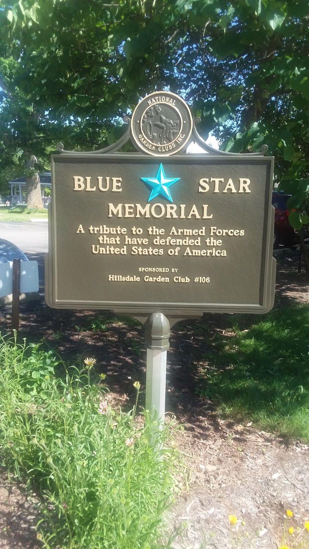 Blue Star Memorial, Hillsdale, Michigan