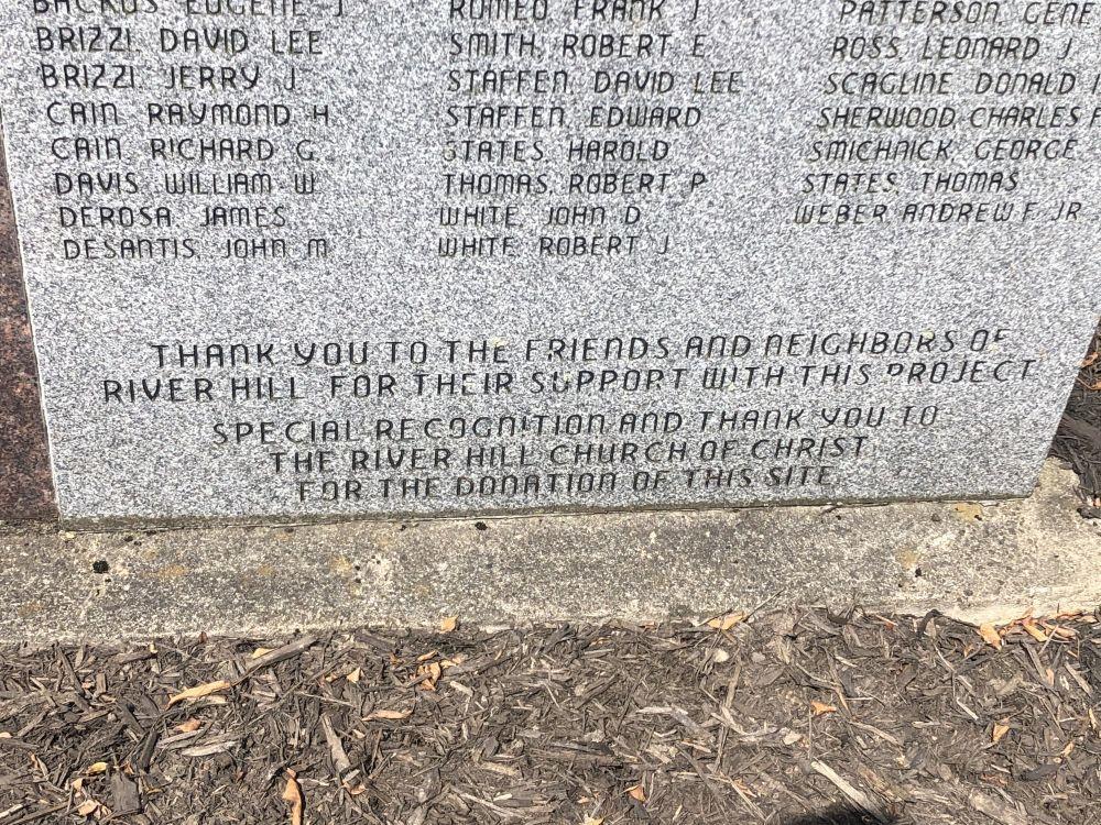 Riverhill Memorial