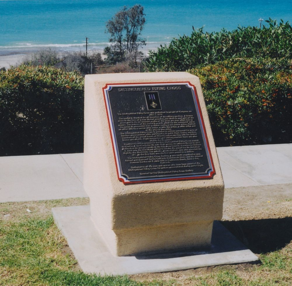 Distinguished Flying Cross Memorial, Dana Point, California