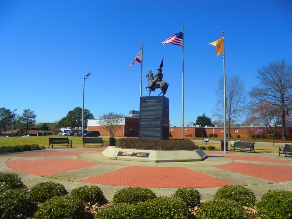 Buffalo Soldier Memorial Monument