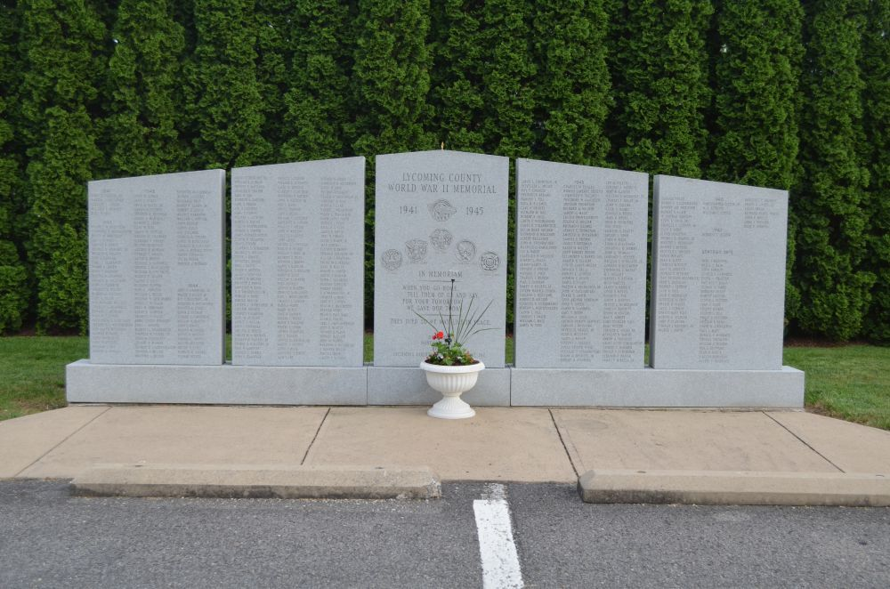 Lycoming County World War II Memorial