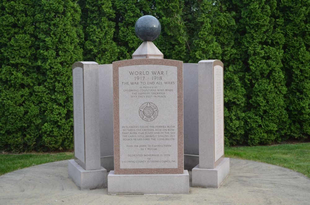 Lycoming County World War I Memorial