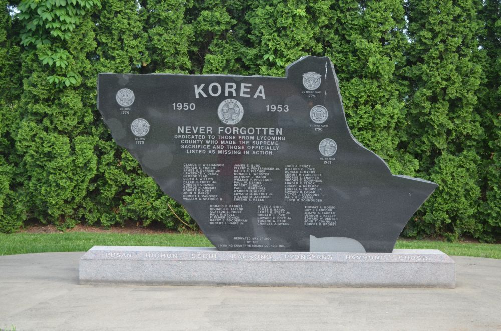 Lycoming County Korean War Memorial