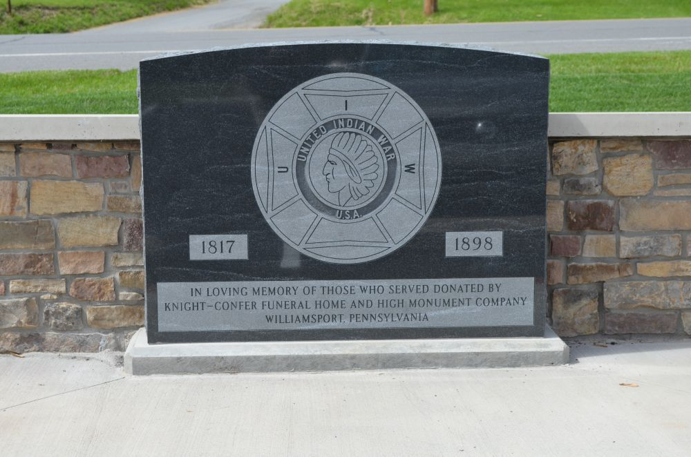 Lycoming County United Indian War Monument