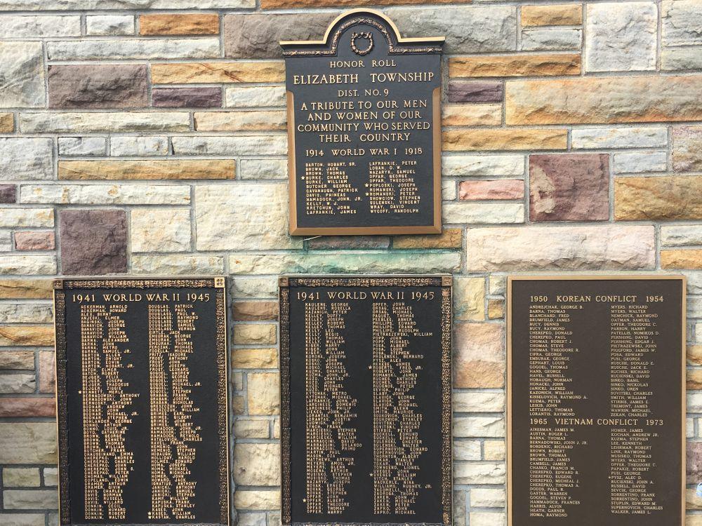 Elizabeth Township District No. 9 Honor Roll