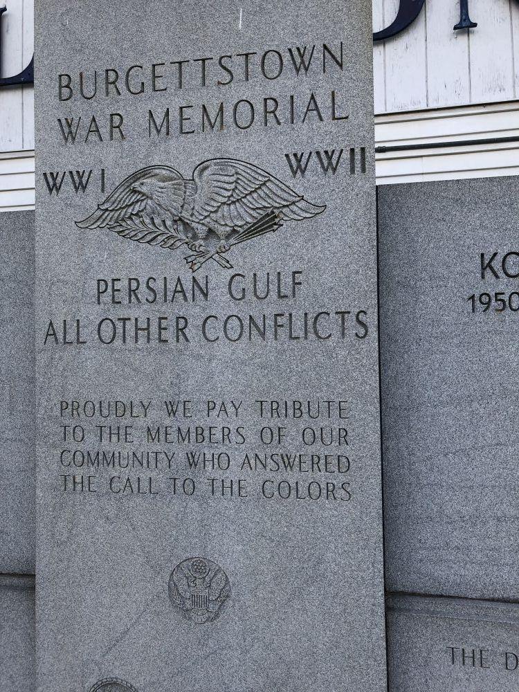 Burgettstown War Memorial