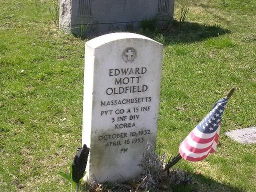 Edward Mott Oldfield Memorial Stone