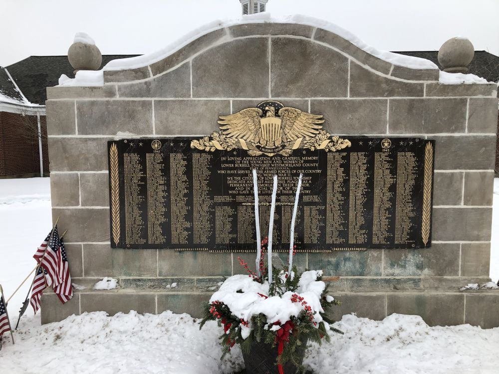 Lower Burrell World War II Honor Roll