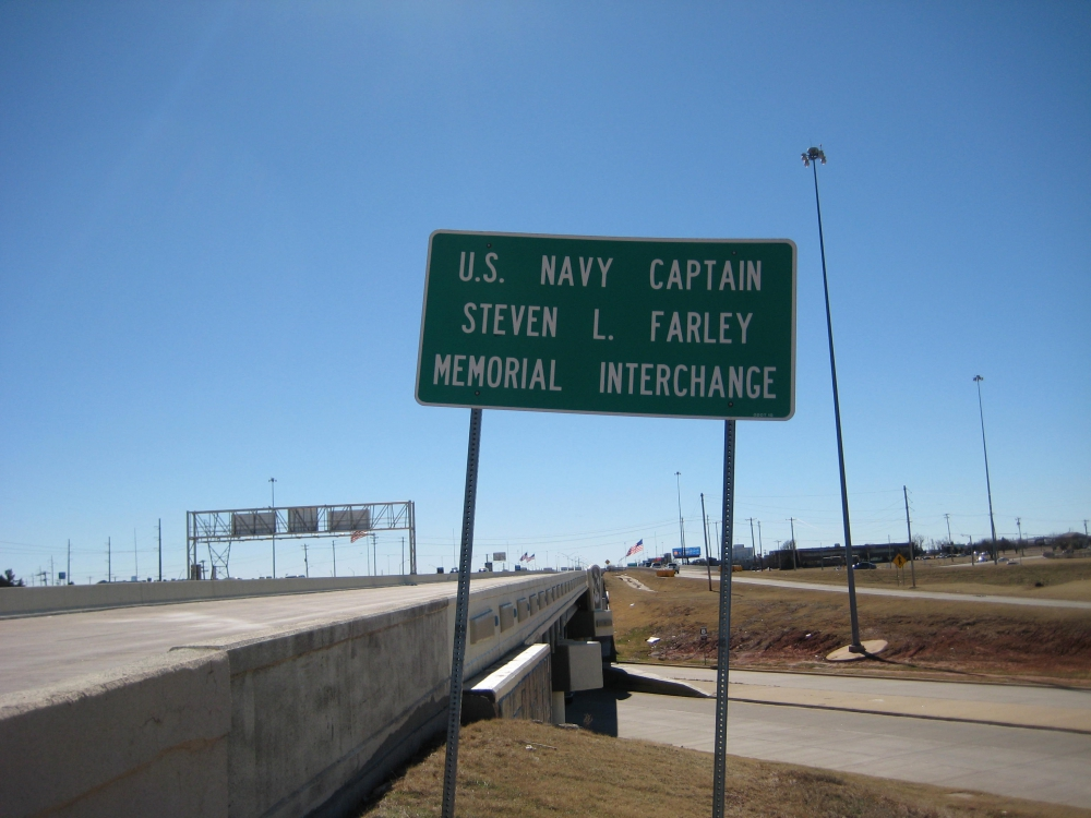 U.S. Navy Captain Steven L. Farley Memorial Interchange