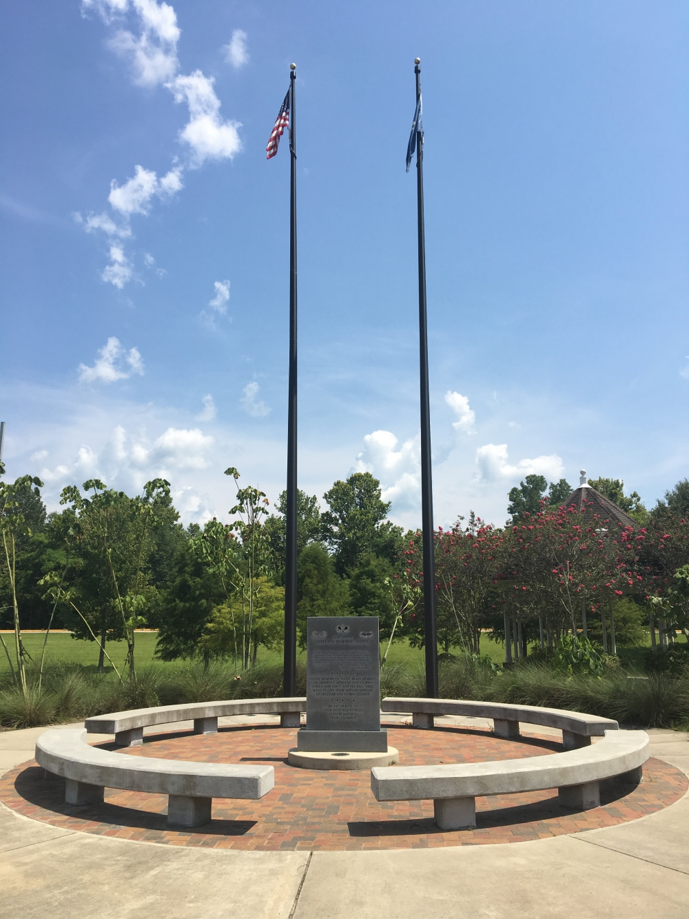 Louisiana Airborne Memorial Bridge Monument