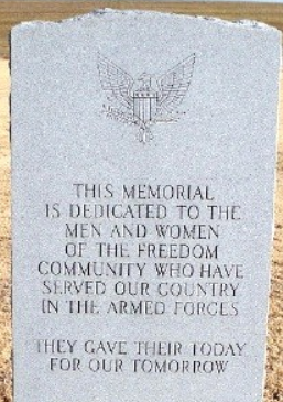 Freedom Veterans Memorial, Woods County, Oklahoma