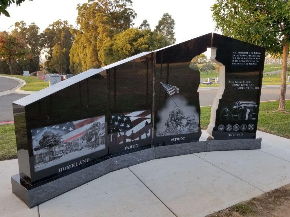 Gold Star Families Memorial Monument in Hayward, California