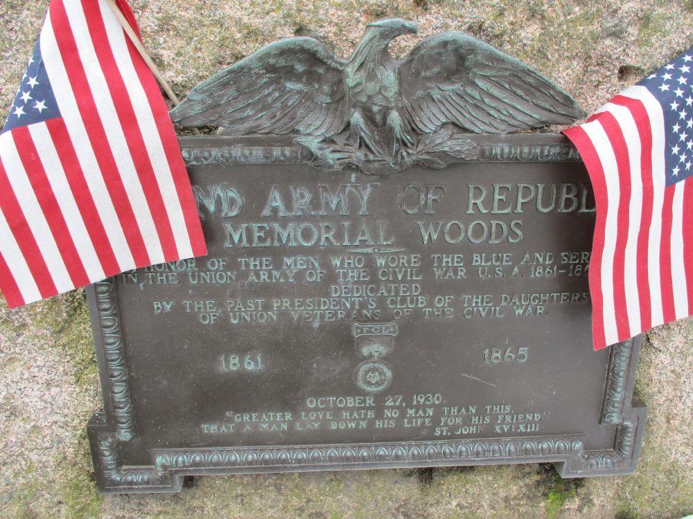 Grand Army of the Republic Memorial Woods Civil War Memorial