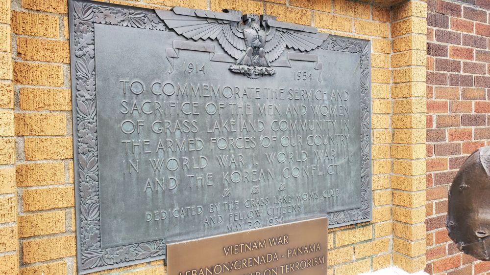 Grass Lake Veterans Memorial