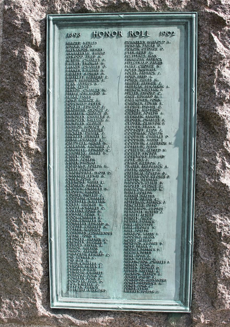 The Hiker Monument, Haverhill, Massachusetts