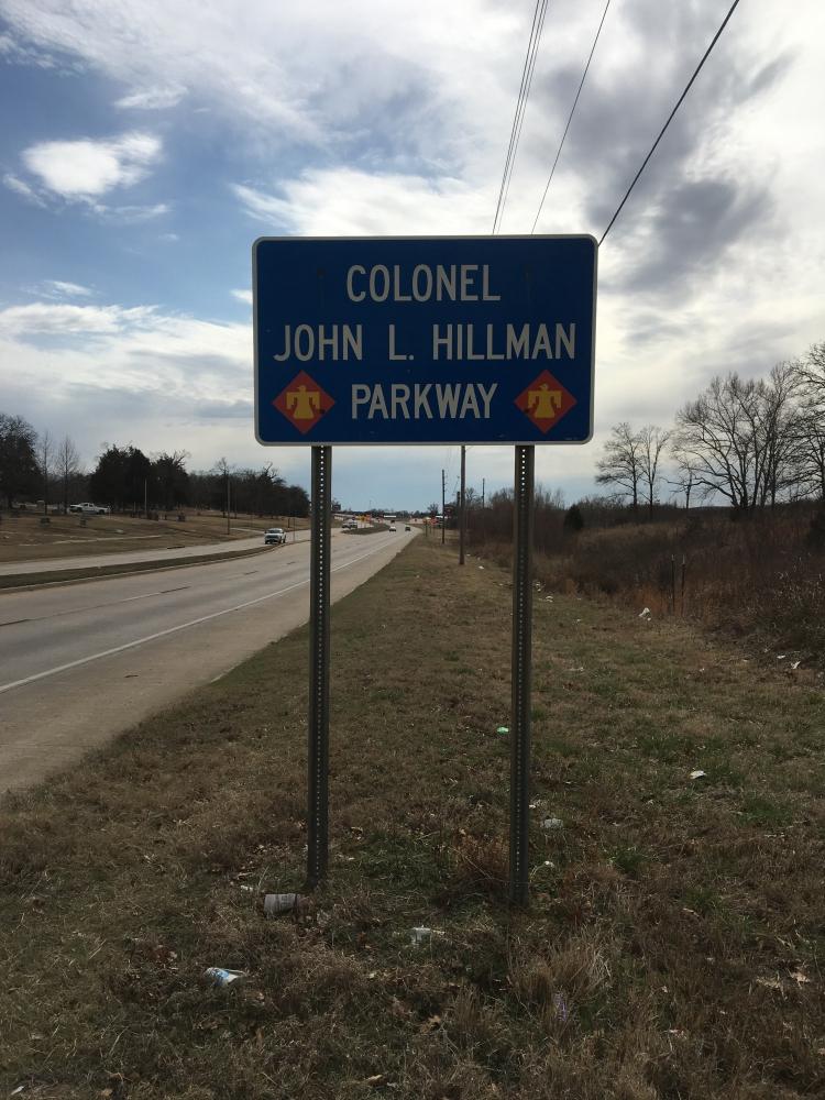Colonel John L. Hillman Parkway