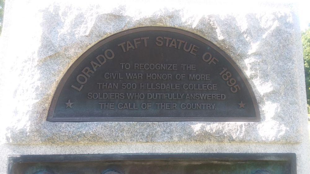 Alpha Civil War Monument