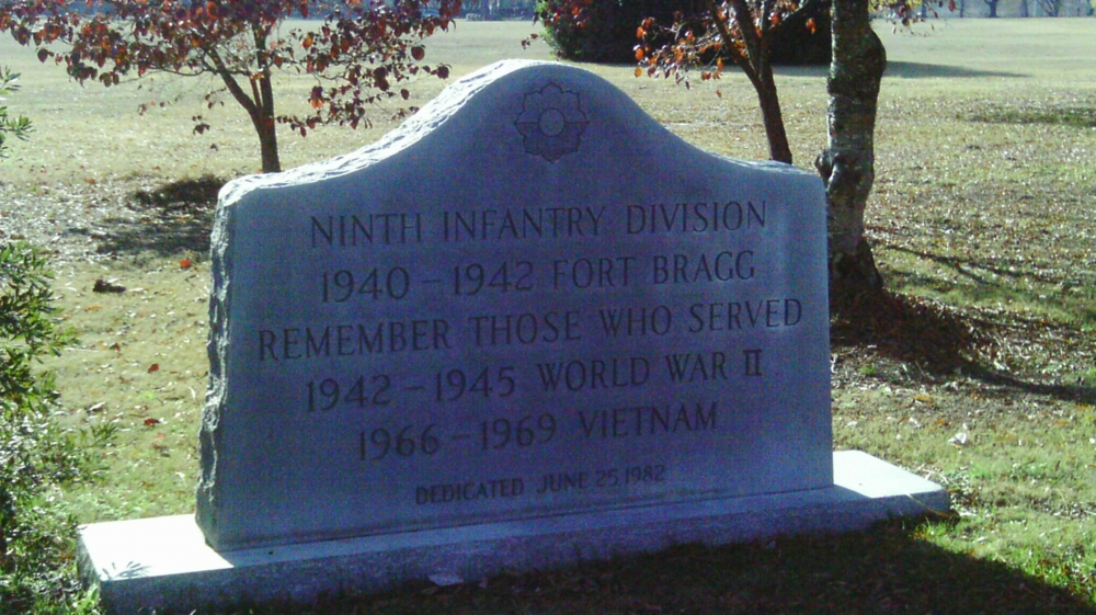 9th Infantry Division Monument