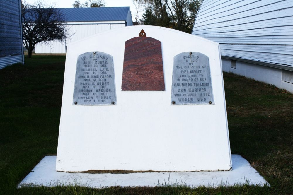 Veterans Memorial, Delmont, South Dakota