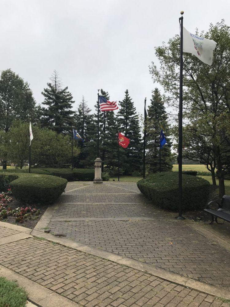 Veterans Memorial, Hillside, Illinois