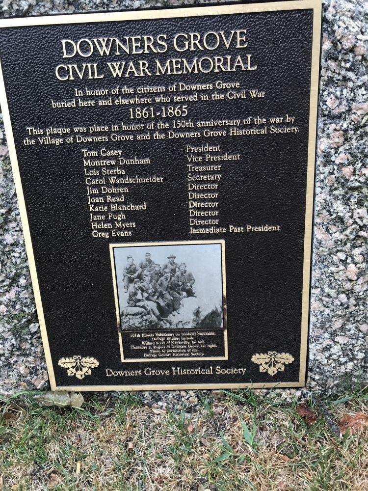 Downers Grove Civil War Memorial