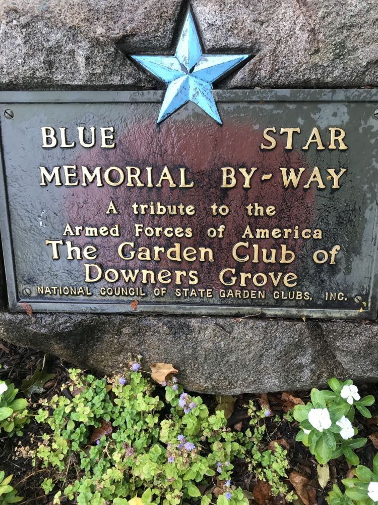 Blue Star Memorial, Downers Grove, Illinois